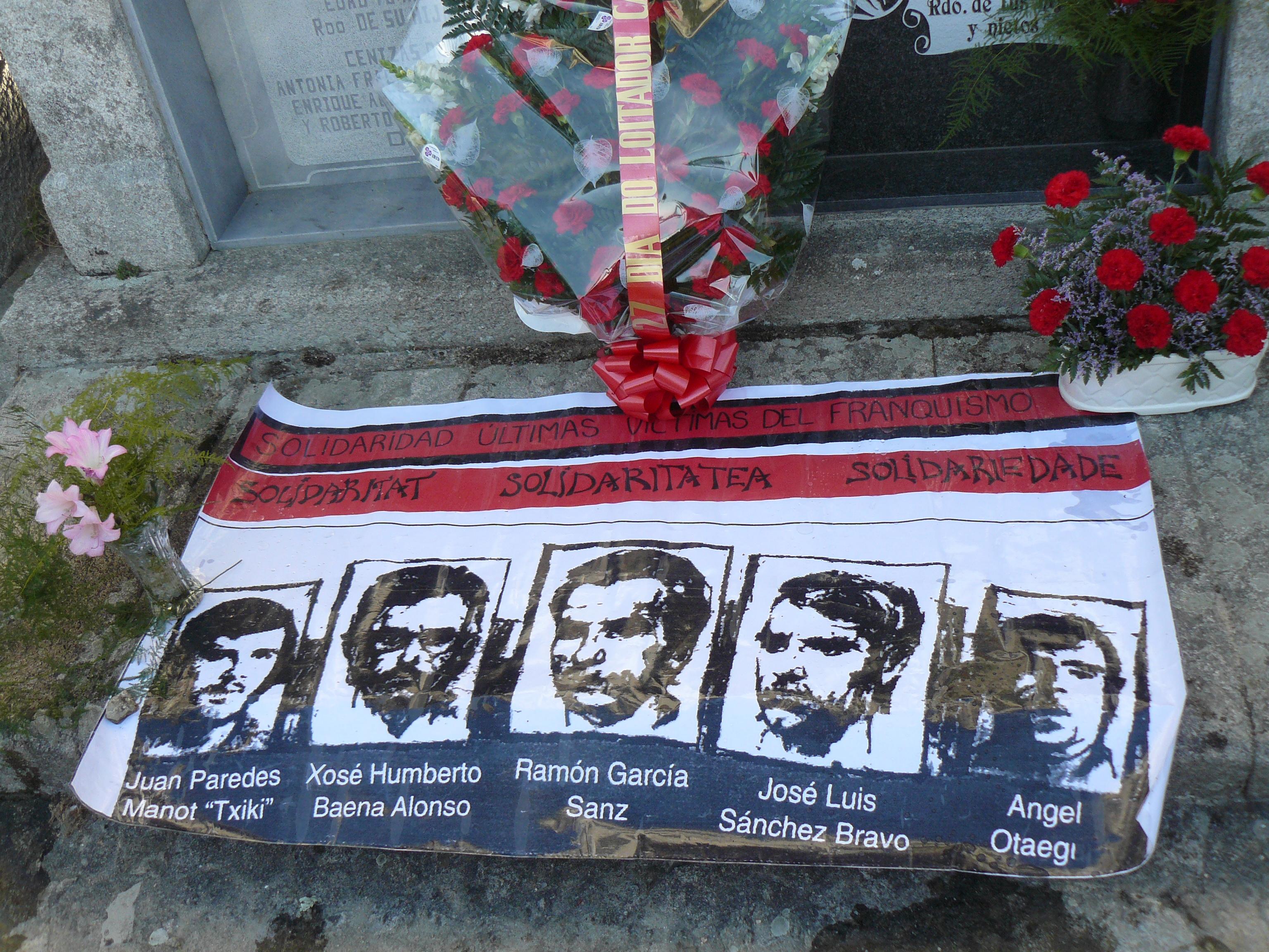 35 aniversario. Cementerio de Pereiró en Vigo